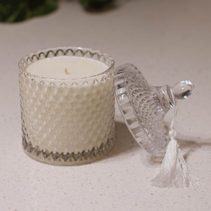 Crystal Club - Large Round Candle