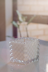 Crystal Club - Large Square Candle
