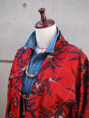 Featured: Floral Windowpane Haori