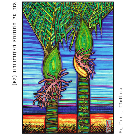 NIKAU PALMS - (e3) Unlimited Prints