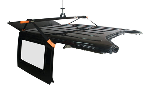 J-BARR: Jeep Wrangler Hardtop Hoist and Storage System