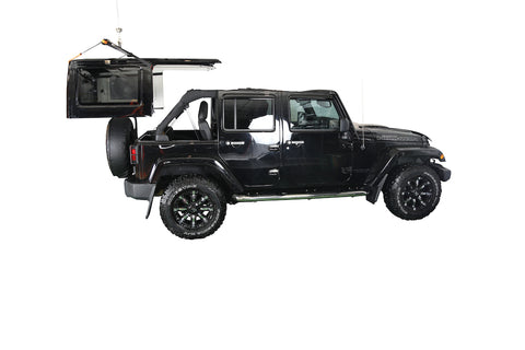 J-BARR:  Bring your own winch kit option (This option includes everything but the manual winch)