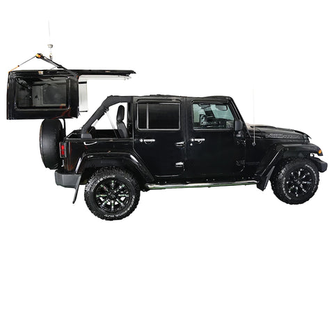 J-BARR: Jeep Wrangler Hardtop Removal Hoist and Storage System
