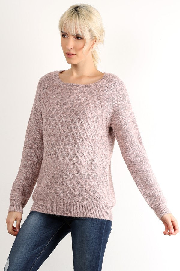 Basket Weave Sweater