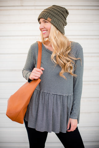 Crochet Lace Duster - Rust