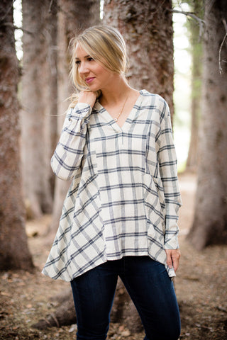 Terry Zipper Tunic