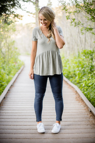 Gold 'n Pockets Blouse