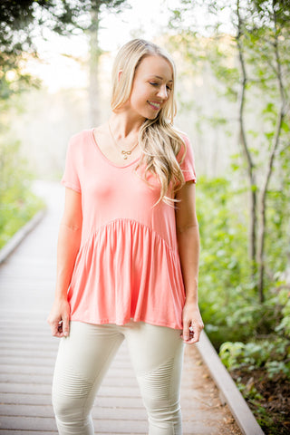Bella Bell Sleeve - Blush