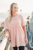 Sunset Tunic - Rose Peach