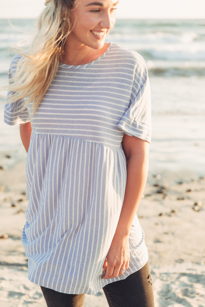 Sunset Tunic - Blue