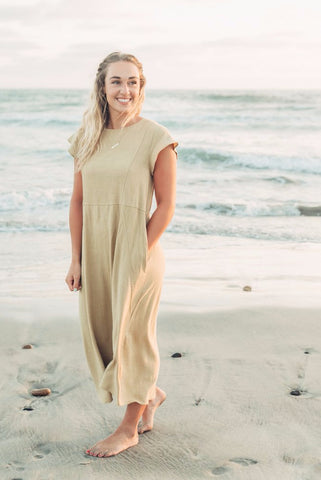 The Megan Maxi - Blue