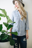 Nautical Stripe Blouse