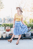 Gingham Picnic Skirt