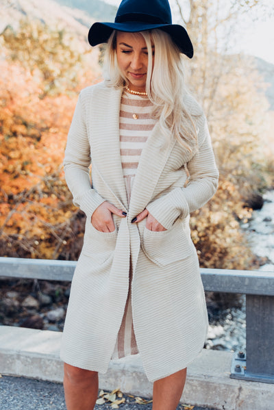 The Harper Cardigan - Cream