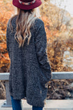 Harvest Cardigan - Charcoal
