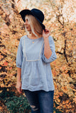 Daydreamer Tunic - Light Blue
