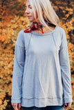 The Jersey Top - Heather Grey