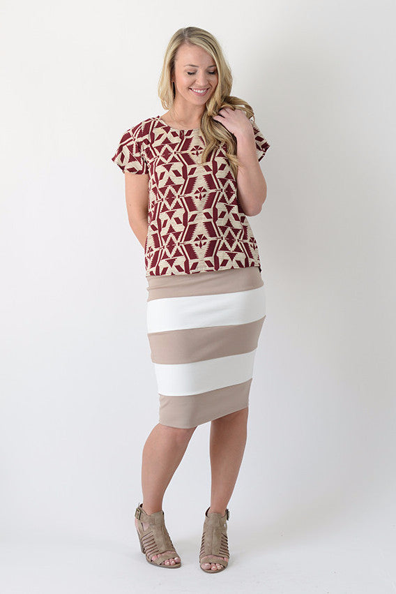 The Becky Pencil Skirt