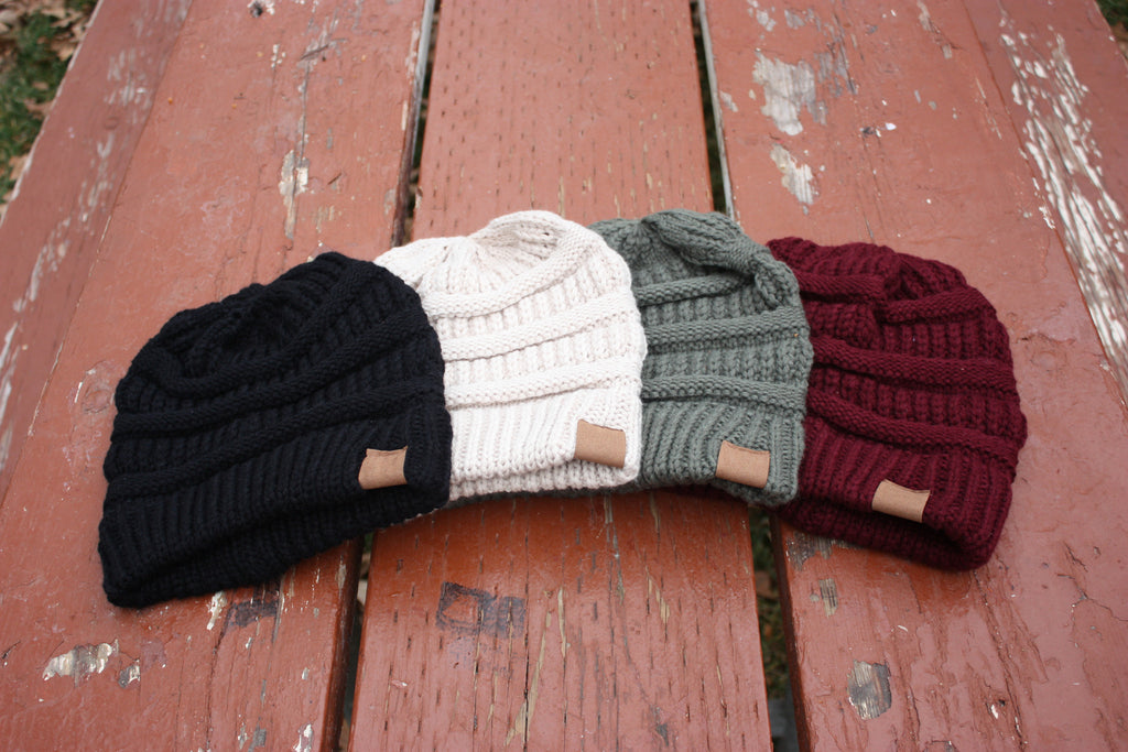 Hipster Slouch Beanie - Multiple Colors!