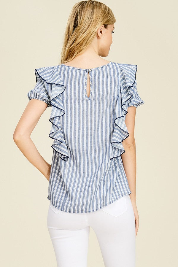 All the Frills Blouse