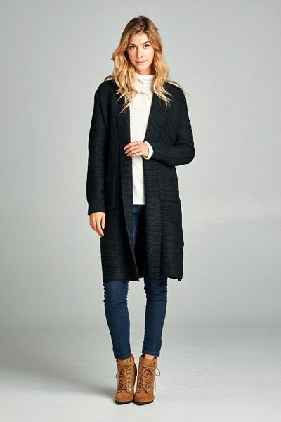 The Harper Cardigan - Black