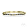 Dusk Eternity Ring, Yellow Gold