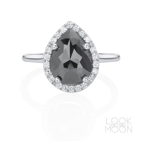 One-of-a-Kind: Jet Black Diamond, White Gold