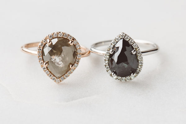 One-of-a-Kind: Grey Diamond, Rose Gold