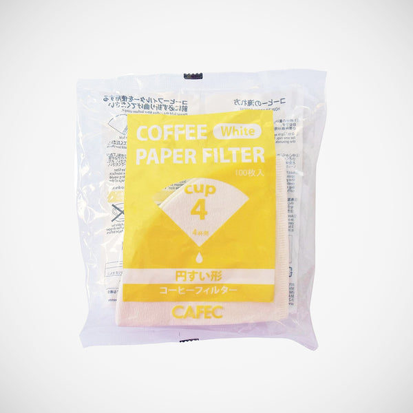 Cafec Filter Papers - 2 Cup 100 pack