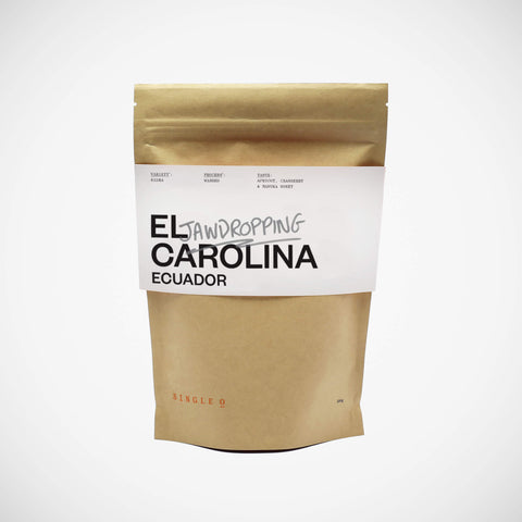 Ecuadorian single origin specialty coffee beans