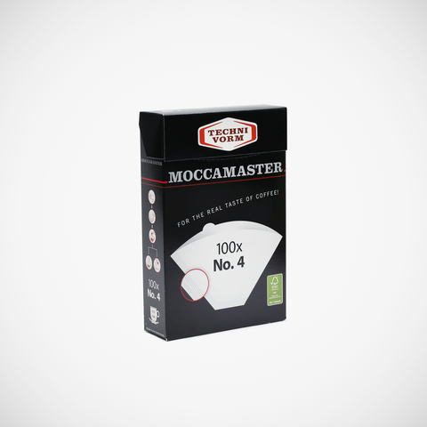 Moccamaster (Techni Vorm) filter papers no 4 for Clever Dripper large