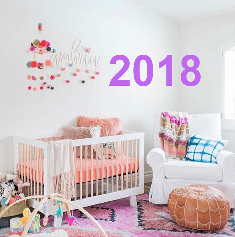 10 Nursery Trends For Girls Room In 2018