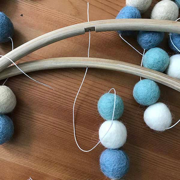 Step By Step Guide On How To Make Felt Ball Mobile