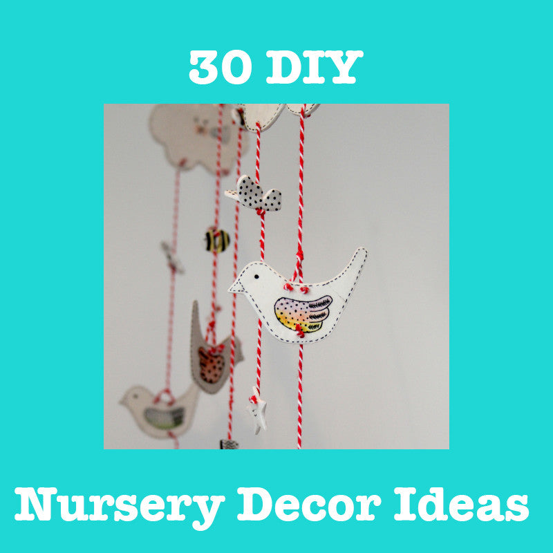 30 Simple And Engaging Nursery Decor Ideas