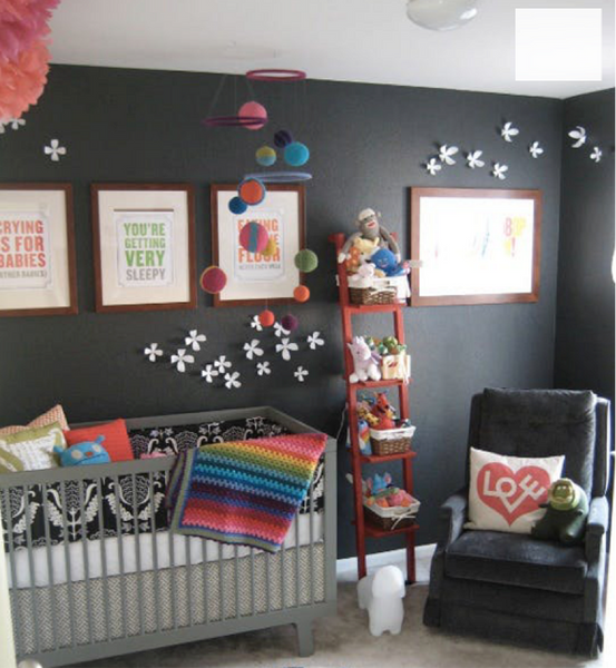 girl nursery room design trend 2018