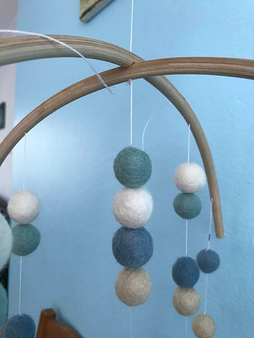 how to make nursery baby mobile
