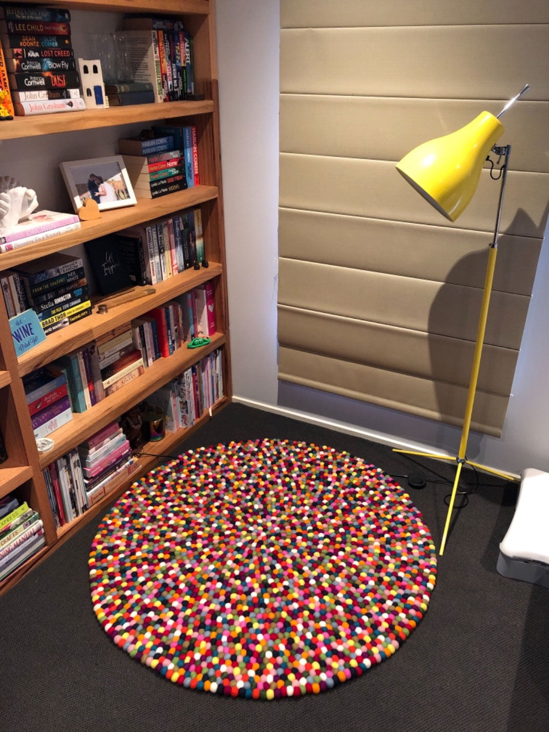 felt ball rug review