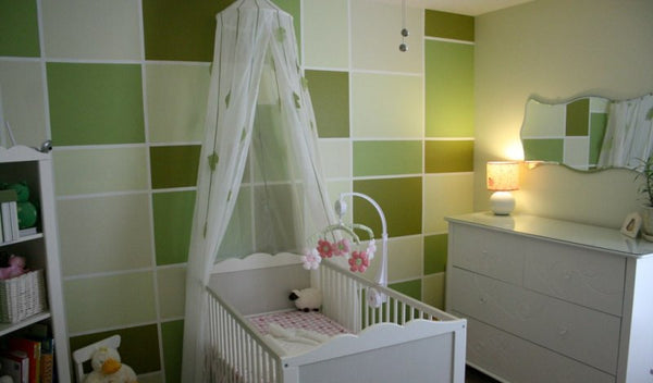 natural colour nursery for baby