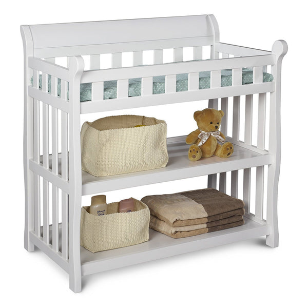 safety trap for changing table for baby