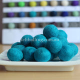 Felt Ball Bubblegum 1 CM,  2 CM, 2.5 CM, 3 CM, 4 CM Colour 45 - Felt Ball Rug Australia - 1