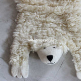 Animal Felt Rug Shaggy The Sheep - Felt Ball Rug Australia - 2