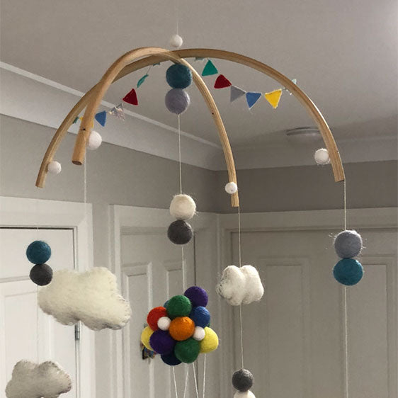 Baby Mobile Wooden Frame