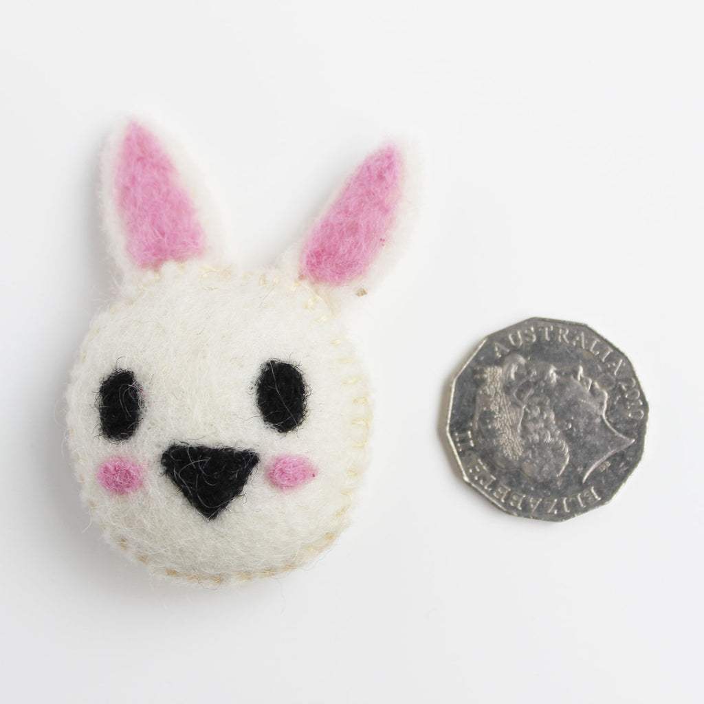 felt animal bunny rabbit