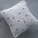 felt ball cushion