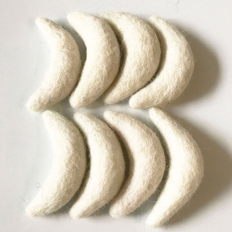 felted moon