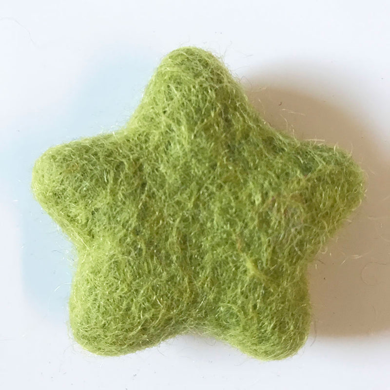 Felt Stars Assorted Colours