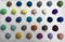 4 CM Felt Balls Assorted Colours