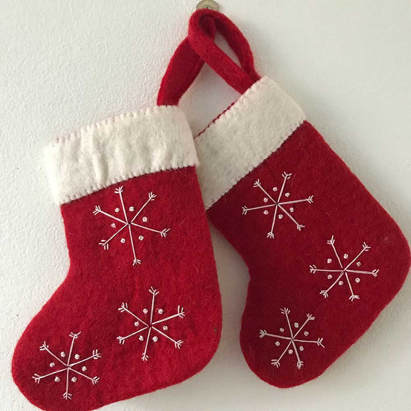 felt stocking christmas