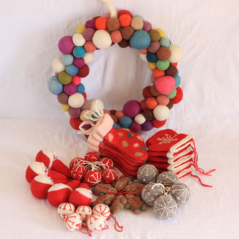 Christmas Single Wreath Package