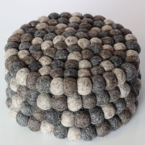 Masterchef Natural Grey Trivet Tower Round